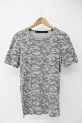 NO ID. Tシャツ.21フライスカモフラ半袖C/N-T