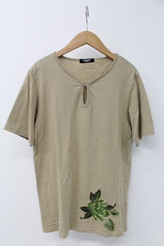 TORNADO MART Tシャツ.スリットボタン