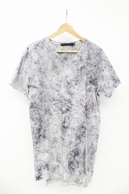 FUGA Tシャツ.Strada 総柄注染ロング丈半袖Tee