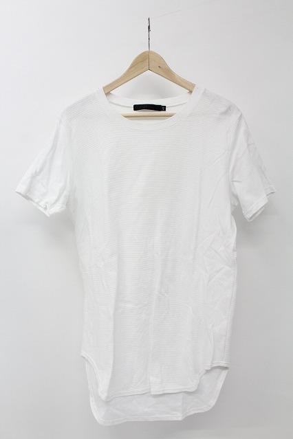FUGA Tシャツ.Estado ロング丈ラウンド無地半袖