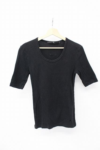 NO ID. Tシャツ.フライス5分袖U/N