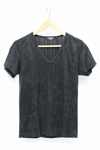TORNADO MART Tシャツ.ムラテレコVネック