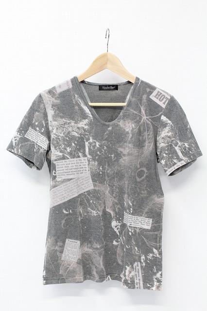 TORNADO MART Tシャツ.昇華プリントT/C天竺