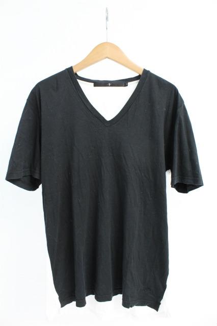NO ID. Tシャツ.コットンリヨセルスムースVネック