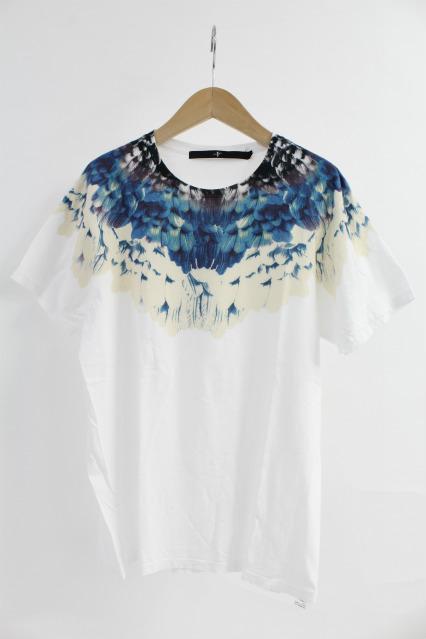 NO ID. Tシャツ.C天竺WingプリントC/N-T