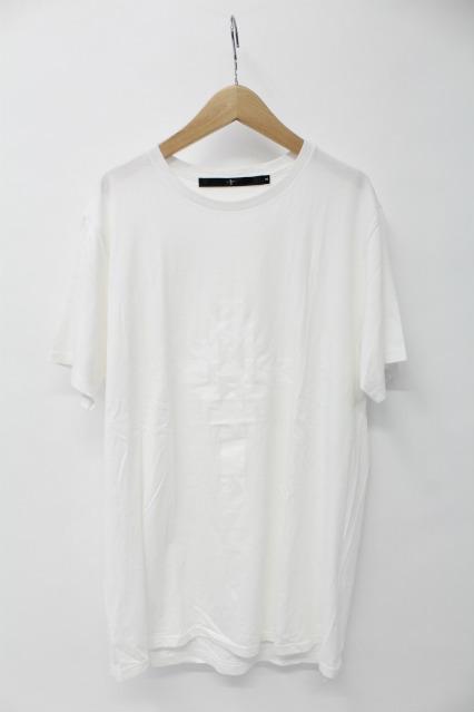 NO ID. Tシャツ.C天竺オルテガクロスプリントC/N-T