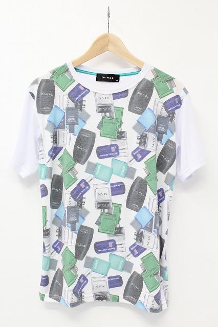 DOWBL Tシャツ.パフュームパターン