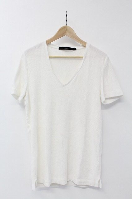 NO ID. Tシャツ.CパイルディープV/N-T