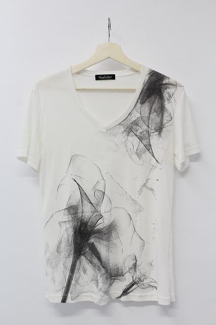 TORNADO MART Tシャツ.スモーキープリント