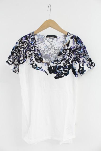 CIVARIZE Tシャツ.Mambaインクジェットプリントスリット半袖