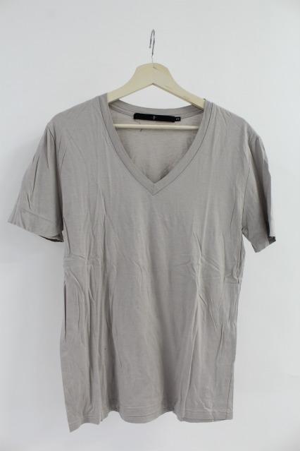 NO ID. Tシャツ.60ギザリヨセル天竺V/N-T
