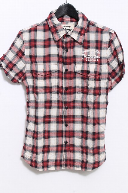 JACKROSE シャツ.チェックS/S