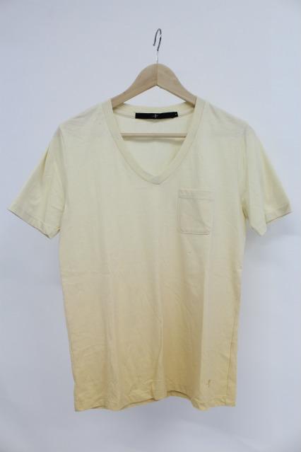 NO ID. Tシャツ.32TC天竺グラデーションV/N