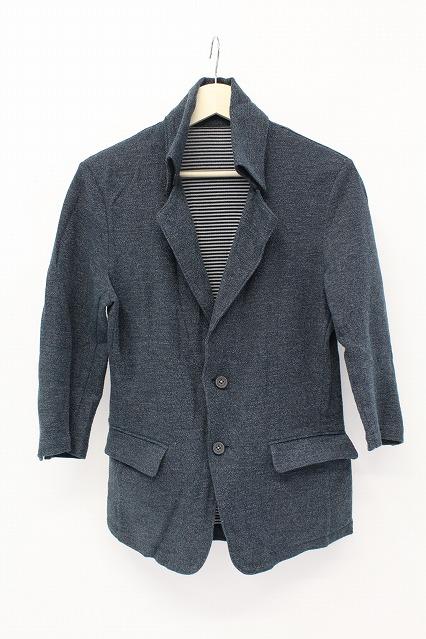 TORNADO MART ジャケット.7分袖返し衿カット