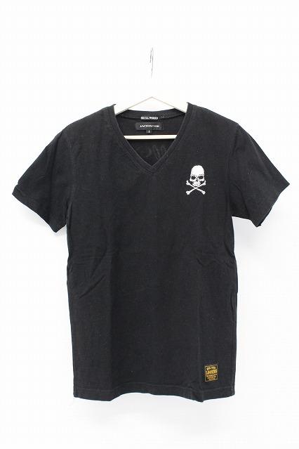JACKROSE Tシャツ.スカル刺繍