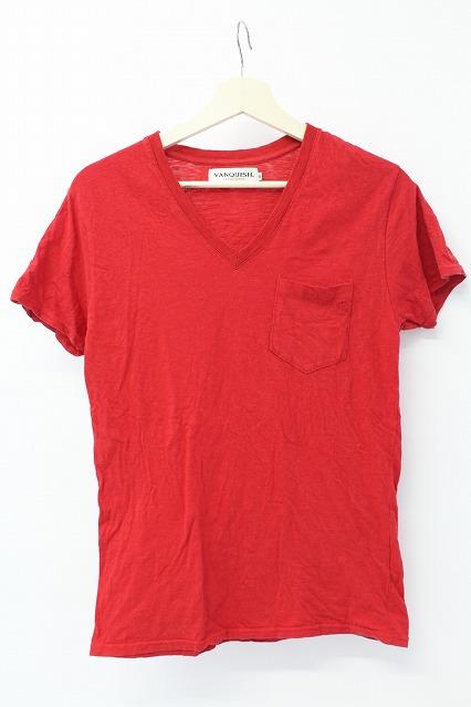 VANQUISH Tシャツ.ポケットアイコン刺繍