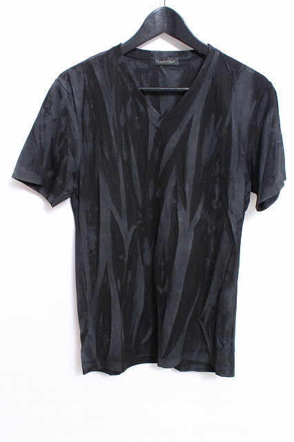 TORNADO MART Tシャツ.針抜きクラッシュプレスPT