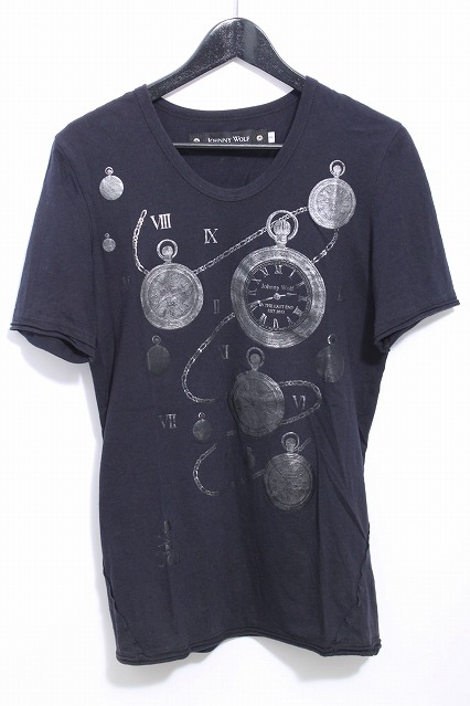 JOHNNY WOLF Tシャツ.CLOCK【クロック】SS