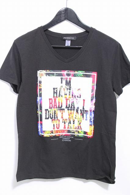 JACKROSE Tシャツ.フラワーボックスレタード