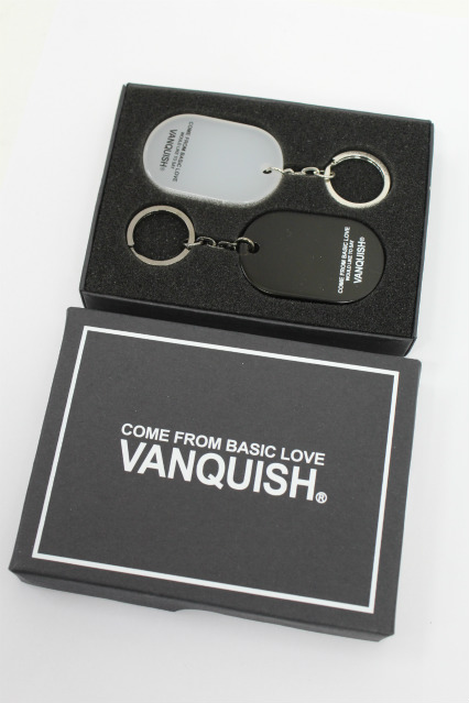 VANQUISH キーホルダー.COME FROM BASIC LOVE