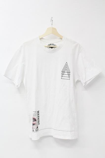 JACKROSE Tシャツ.虎プリントVネック