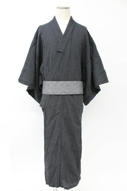 Black by VANQUISH 浴衣.しじら織りワンタッチ帯セット