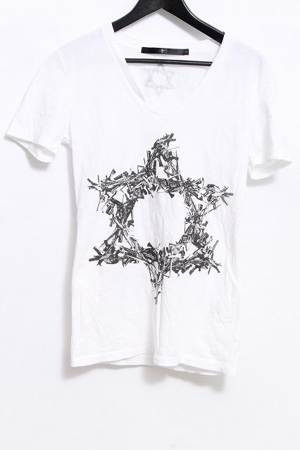 NO ID. Tシャツ.ペンタグラムGUN