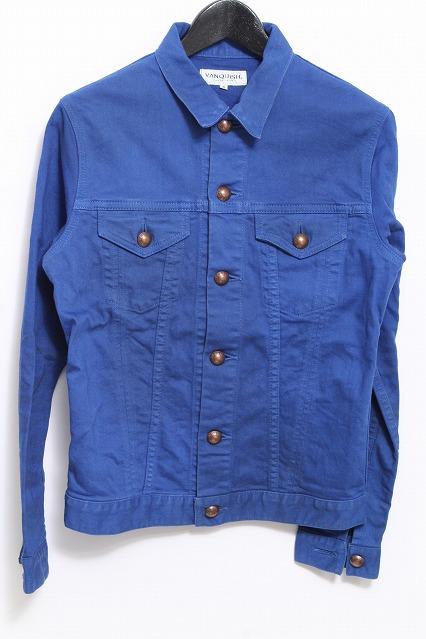 VANQUISH ジャケット.カラーデニムトラッカー