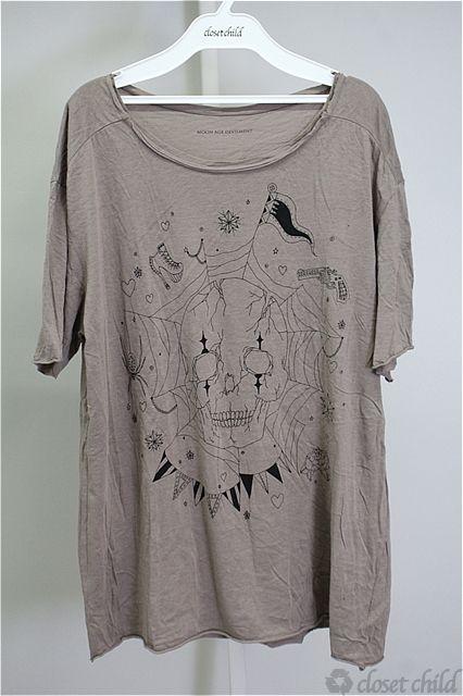 Moonage Devilment(清春) Tシャツ.スカルプリント