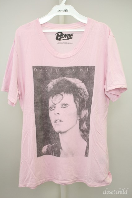 Moonage Devilment(清春) Tシャツ.MaD×David Bowie