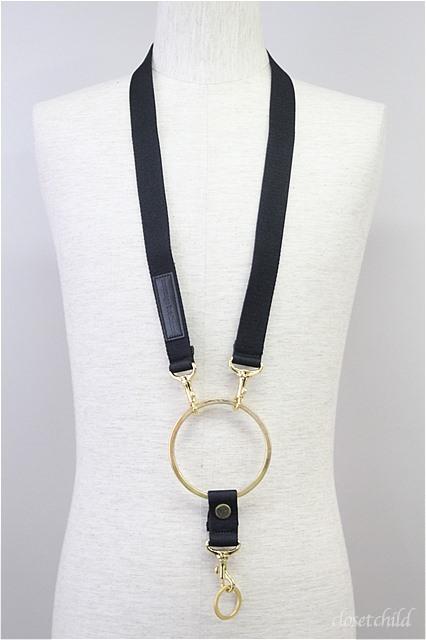 Moonage Devilment(清春) ネックレス.3wayリングネックストラップ