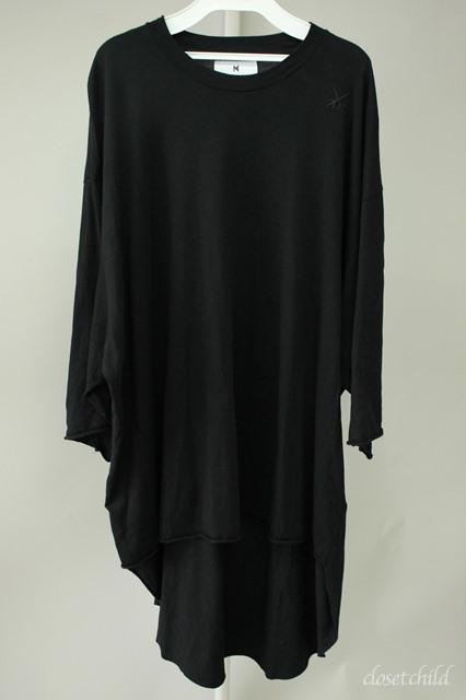 Moonage Devilment(清春) Tシャツ.コットンモダールカットオフH/Sラウンドオーバー