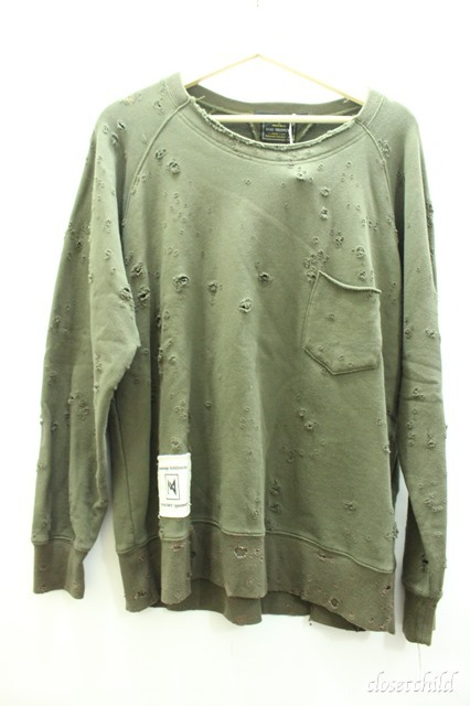 Moonage Devilment(清春) カットソー.xEGO TRIPPING CHOP SWEAT