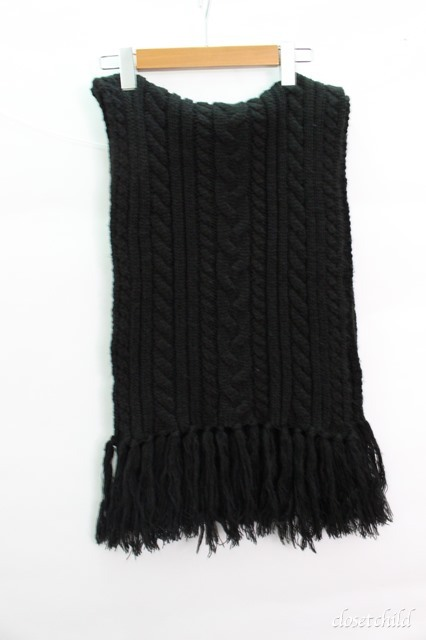 Moonage Devilment(清春) マフラー.Cable Knit Long Stole
