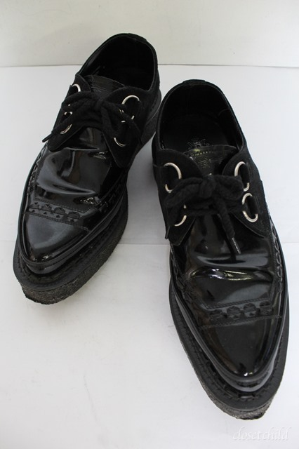 Moonage Devilment シューズ.GEOGE COXコラボ D Ring Gibson Leather 3588