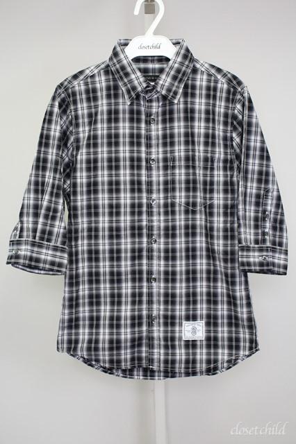GOSTAR DE FUGA シャツ.チェック七分袖