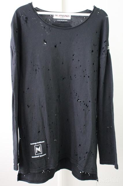Moonage Devilment(清春) Tシャツ.PROPA9ANDAコラボオパールダメージ
