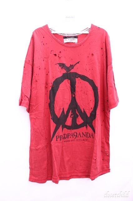 Moonage Devilment(清春) Tシャツ.REVERATION SHADOW CRASH