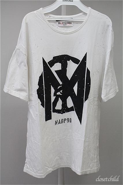 Moonage Devilment(清春) Tシャツ.PROPA9ANDA MADP9D CRASH