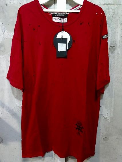 Moonage Devilment(清春) Tシャツ.PROPA9ANDA DISTORTION CRASH