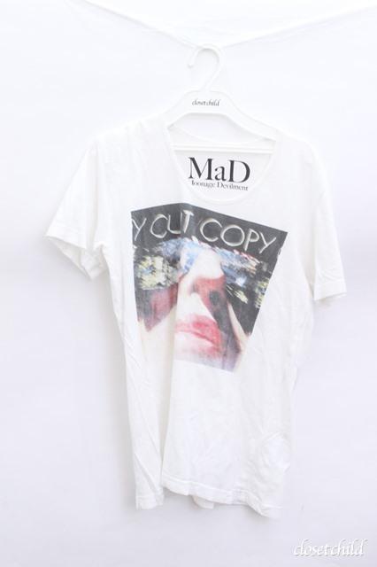 Moonage Devilment(清春) Tシャツ.プリント