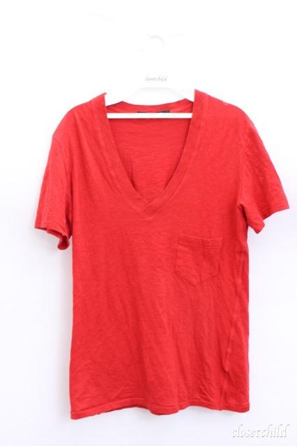 Moonage Devilment(清春) Tシャツ.Vネックポケット