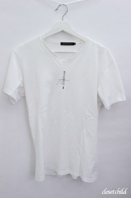 GOSTAR DE FUGA Tシャツ.刺繍ラバーコンビプリント
