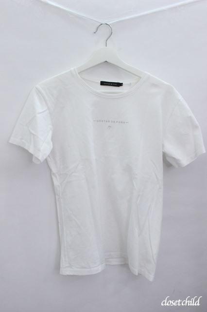 GOSTAR DE FUGA Tシャツ.リフレクターブランドロゴ