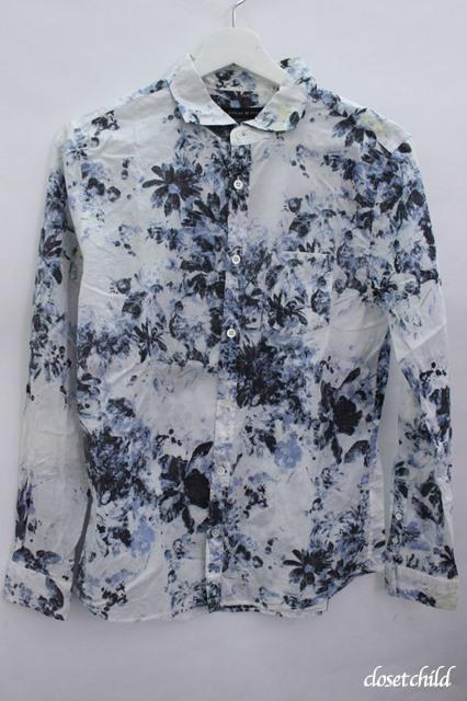 GOSTAR DE FUGA シャツ.オリジナル花柄裏使い
