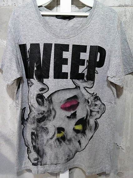 Moonage Devilment(清春) Tシャツ.WEEPプリント
