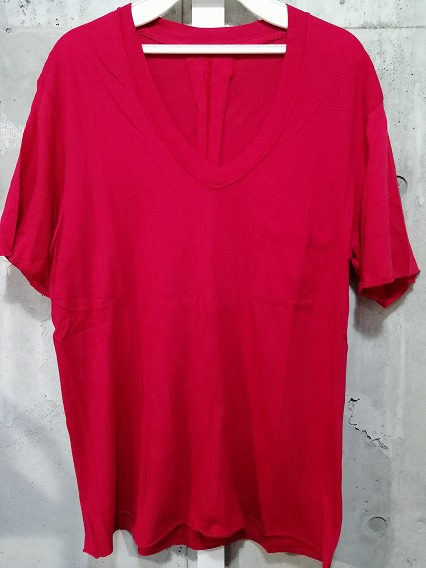 Moonage Devilment(清春) Tシャツ.ポケットVネック