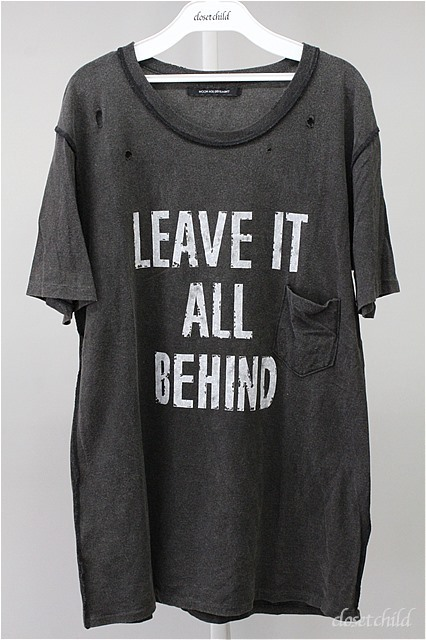 Moonage Devilment(清春) Tシャツ.LEAVE IT ALL BEHIND