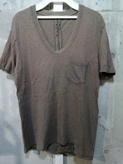 Moonage Devilment(清春) Tシャツ.ポケットUネックアンダーウェア