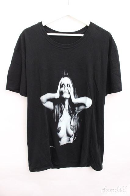 Moonage Devilment(清春) Tシャツ.レディープリント-